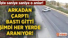 İzmir Aliağa'da Yusuf Gökkılıç'a çarpan araç bastı gitti.. Şimdi aranıyor!