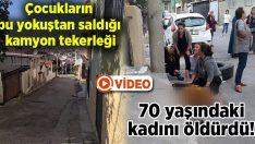 İzmir Bayraklı'da çocukların yokuştan saldığı kamyon tekerleği 10 yaşındaki Gülbade Kevik'i öldürdü!
