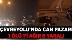 İzmir çevreyolunda feci kaza! Nurten Oto öldü, 1'i ağır 6 kişi yaralandı!