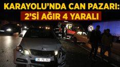 Manisa Kula'da meydana gelen kazada Halil Akgün ve Ayşe Akgün ağır yaralandı!