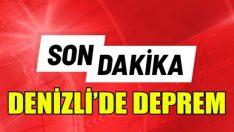 Bozkurt'taki deprem Denizli'yi salladı