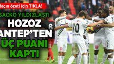Gaziantep FK – Yukatel Denizlispor maç sonucu