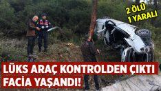 Aydın Kuşadası'nda meydana gelen kazada 2 kişi öldü 1 kişi yaralandı!