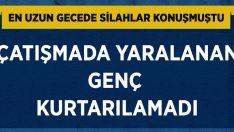 Aydın Söke'de çatışmada yaralanan Ferit Can Şimşek hayatını kaybetti!