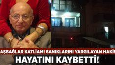Başbağlar Katliamı'nın faillerini yargılayan hakim Feyzi Oylupınar hayatını kaybetti!