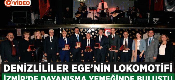 Denizli 'Ege'nin Lokomotifi' İzmir'de buluştu!