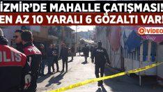 İzmir Konak'ta silahlı çatışma.. 10 yaralı 6 gözaltı!