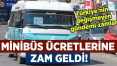 İzmir'de minibüslere bir kez daha zam!