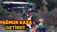 Manisa Kula'da meydana gelen kazada Cengiz Demir yaralandı!