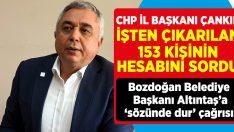 CHP İl Başkanı Çankır, işçilerin hesabını sordu