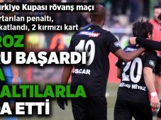 Yukatel Denizlispor, Türkiye Kupası'na penaltılarla veda etti