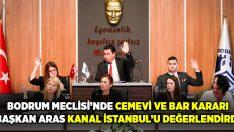 Bodrum Meclisi'nden Cemevi ve bar kararı çıktı, Başkan Aras Kanal İstanbul'u değerlendirdi