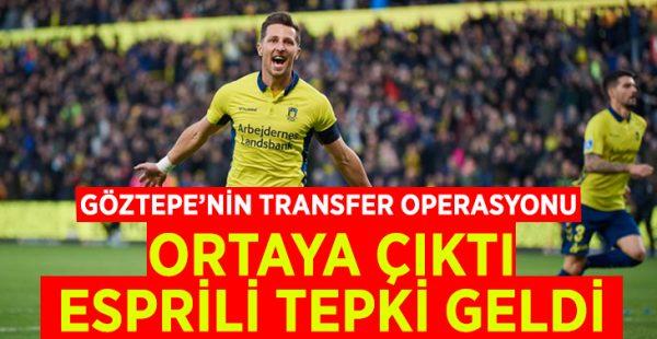 Göztepe'nin transfer operasyonu ortaya çıktı, esprili tepki geldi
