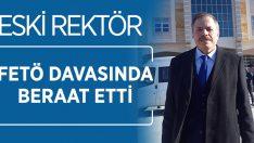 Eski rektör FETÖ davasıda beraat etti