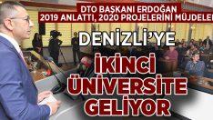 DTO Başkanı Uğur Erdoğan'da müjdeler
