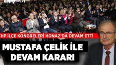CHP Honaz'da Mustafa Çelik ile devam kararı