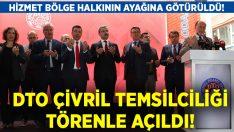 DTO Çivril Temsilciliği açıldı.. Hizmet bölge halkının ayağına götürüldü!