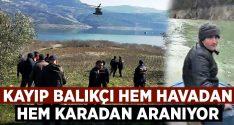 Aydın Bozdoğan'da kayıp balıkçı Önder Gülhan'ı arama çalışmaları sürüyor!