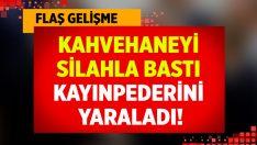 İzmir Ödemiş'te kahvehaneye silahlı saldırı: 2 yaralı