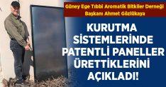 Başkan Gözlükaya 'Biokütle+ Güneş Enerjisi ısınmada tek çözüm' dedi!