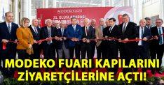 MODEKO 2020 31. Uluslararası İzmir Mobilya Fuarı kapılarını açtı