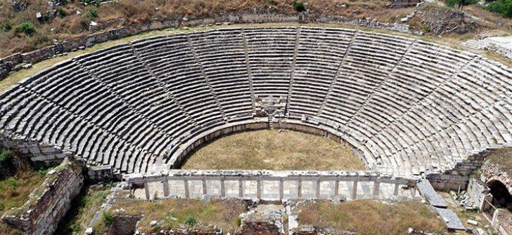 Afrodisias Antik Kenti sanal alemde