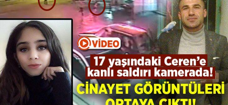 Ceren Kultaş'a pompalı tüfekle saldırı anı görüntüleri ortaya çıktı!