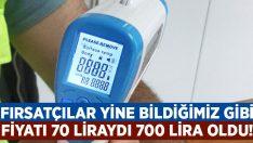 Fırsatçılar yine iş başında.. Fiyatı 70 liraydı 700 liraya çıktı!