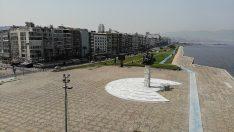 İzmir'in sakin görüntüsü havadan görüntülendi