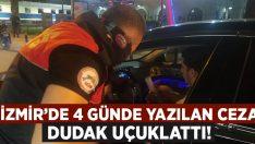 İzmir'de 45 günlük yasakta 2 bini aşkın kişiye 5 milyon liraya yakın ceza kesildi!