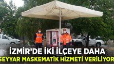 İzmir'de iki ilçeye daha seyyar maskematik hizmeti veriliyor!