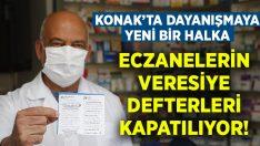 Konak'ta dayanışmaya yeni halka.. Eczanedeki veresiye borçları için kampanya!