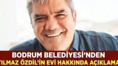 Yılmaz Özdil'in Bodrum'daki evi hakkında Bodrum Belediyesi'nden açıklama!