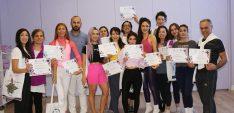 İlk ve tek uluslararası geçerli yoga sertifikasına sahip uzmanlar iş başında