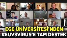 Ege Üniversitesi #EuvsVirus'a tam destek verdi