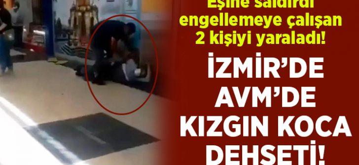 İzmir'de Novada Menemen AVM'de dehşet.. Boşanma aşamasında olduğu eşini ve 2 kişiyi yaraladı!