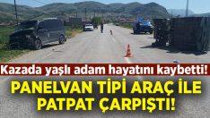 Panelvan tipi araçla pat pat çarpıştı.. 71 yaşındaki Mustafa Şahin hayatını kaybetti!
