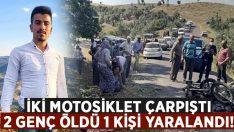 Uşak'ta feci motosiklet kazası.. Mustafa Kızılçay ve Efe Gürsoy hayatını kaybetti!