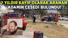 7 yıldır kayıp olan Levent Karaduman'ın cesedi bulundu!