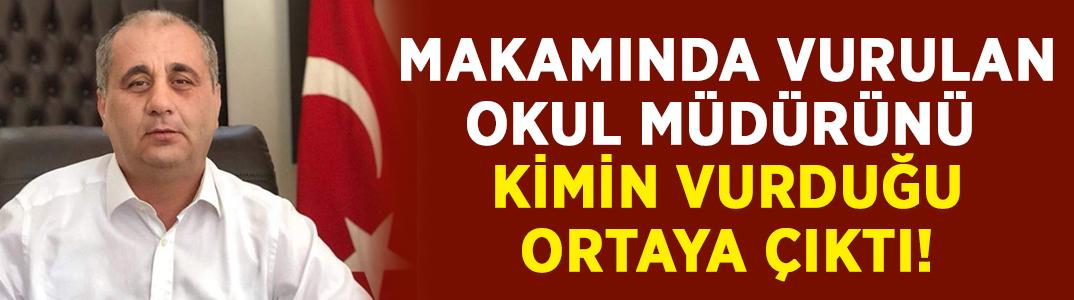 Okul müdürü Halil İbrahim Yüksel'i eski ortağının vurduğu ortaya çıktı!