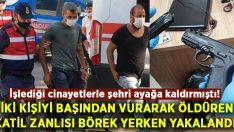 Hasan Yanik ile Hamdi Ekim Serdaroğlu'nun katili börek yerken yakalandı!