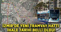 İzmir'de Çiğli tramvayı yola çıkıyor!