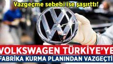 Volkswagen, Manisa'da fabrika kurma planından vazgeçti!