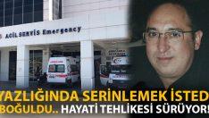 Yazlığında serinlemek için denize giren Hasan Murat Köker boğuldu!