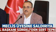 Menemen'de belediye meclis üyesi Hanifi Can'a saldırılmasına Sürekli'den tepki!