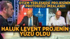 Haluk Levent, Otizm Yerleşkesi projesinin yüzü oldu