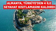 Almanya, Türkiye'den 4 ile seyahat kısıtlamasını kaldırdı