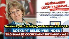 Bozkurt Belediyesi 'Bilgisayarsız çocuk kalmasın' kampanyası başlattı!