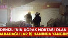Denizli'de Babadağlılar İş Hanı'nda yangın çıktı!