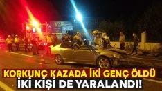İzmir Torbalı'da korkunç kaza.. İsmail Başak ve Mehmet Akın hayatını kaybetti!